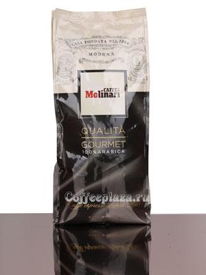 Кофе Molinari в зернах Gourmet