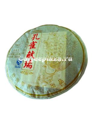 Чай Пуэр Небесная птица шу  357г, (3 года)