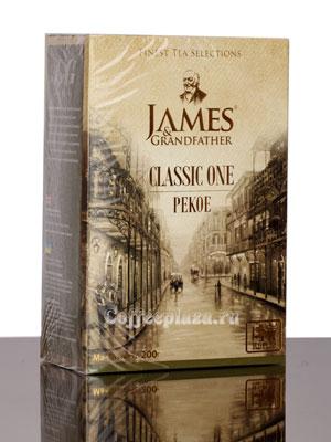 Чай James Grandfather Рекое. Черный, 200 гр