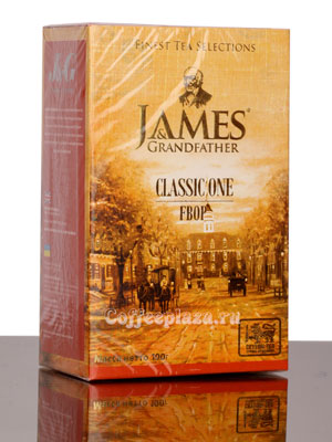 Чай James Grandfather FBOP. Черный, 100 гр
