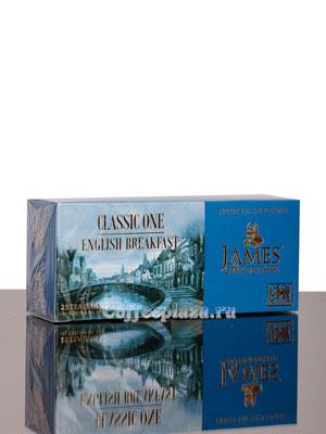 Чай James Grandfather BTEBS&T. Английский Завтрак Черный, Пакетик, 25 шт