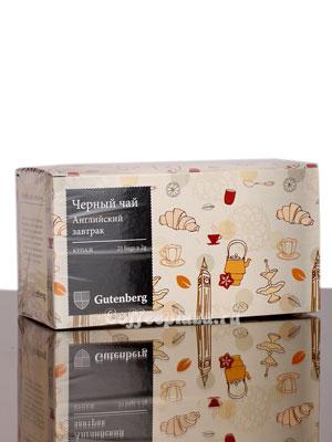 Чай Gutenberg Английский Завтрак 25 шт