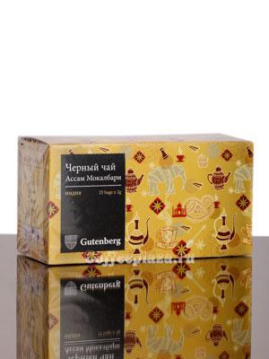 Чай Gutenberg Ассам Мокалбари 25 шт