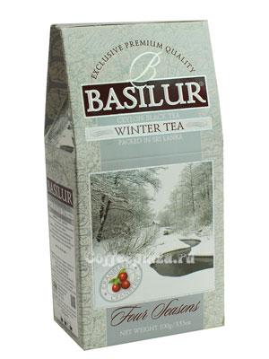 Чай Basilur Времена года Зимний с клюквой 100 гр