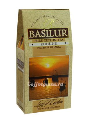 Чай Basilur Лист Цейлона Рухуну 100 гр