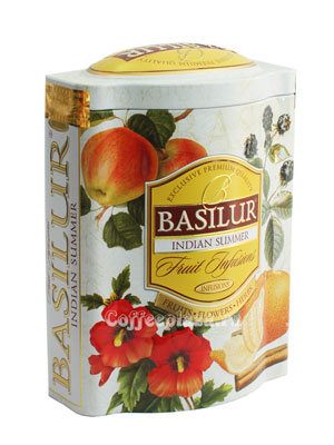 Чай Basilur Фруктовое вдохновение Индийское Лето 100 гр