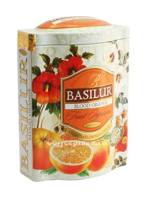 Чай Basilur Фруктовое вдохновение Красный Апельсин 100 гр