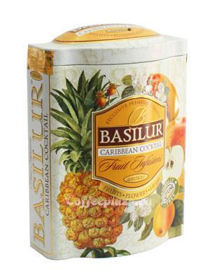 Чай Basilur Фруктовое вдохновение Карибский Коктейль 100 гр