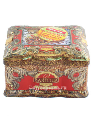 Чай Basilur Ларец Красный топаз 100 гр