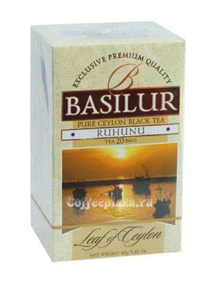 Чай Basilur Лист Цейлона Рухуну