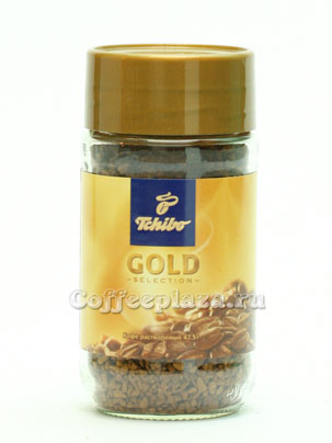 Кофе Tchibo растворимый Gold Selection 95 гр