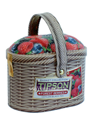 Чай Tipson Basket Forest berries 100 гр