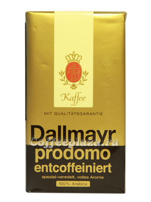 Кофе Dallmayr молотый Prodomo Без кофеина
