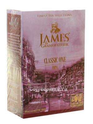 Чай James Grandfather OPA. Черный, 100 гр