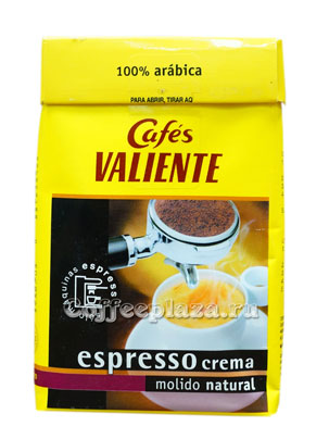 Кофе Valiente в зернах Espresso