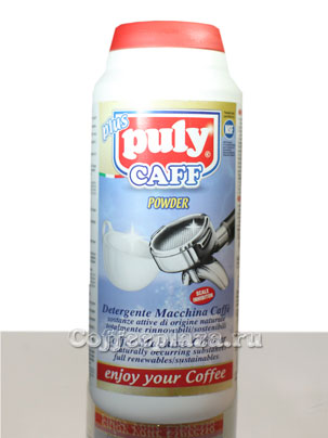 Средства для чистки кофемашин эспрессо PULY CAFF POWDER/ Порошок в банке 900 гр