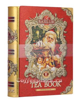 Чай Basilur Чайная книга Том 5 100 гр ж.б.