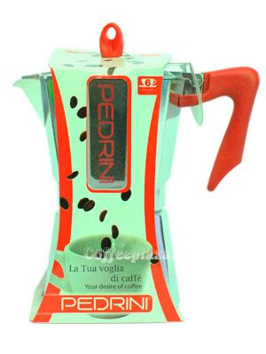 Гейзерная кофеварка Pedrini 6 порции (240 мл)