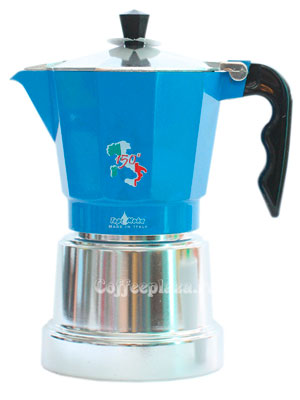Гейзерная кофеварка Top Moka 150 Italian Republic 3 порции (120 мл)
