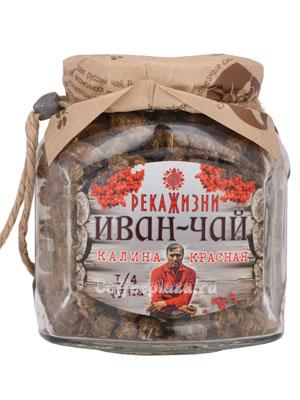 Река жизни Иван-Чай Красная Калина Стекло 112 гр