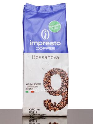 Кофе Impresto в зернах Bossanova 250 гр