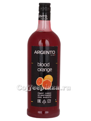 Сироп Argento Красный апельсин 1 л