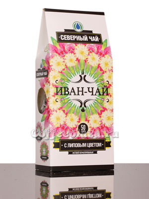 Северный чай Иван-Чай листовой ферментированный с липовым цветом
