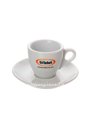 Чашка+Блюдце эспрессо Bristot 60 мл (керамика)