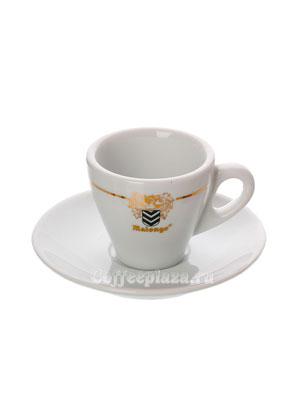 Чашка с блюдцем Malongo для эспрессо