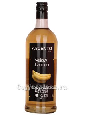Сироп Argento Желтый Банан