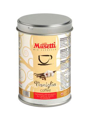 Кофе Musetti молотый Vanilla 125гр