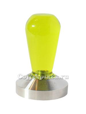 Темпер Motta ручка из резины желтая, 58 мм