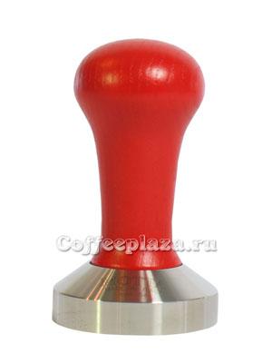 Темпер Мотта, ручка дерево красная, 53 мм (8140/R)