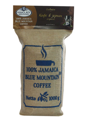 Кофе Jamaica Blue Mountain в зернах средней обжарки