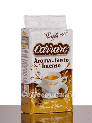 Кофе Carraro молотый Aroma e Gusto Intenso 250 гр