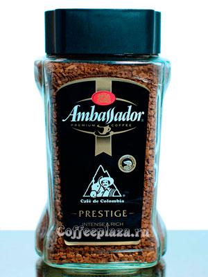 Кофе Ambassador Растворимый Prestige 190 гр