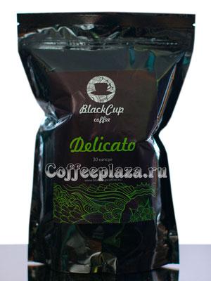 Кофе BlackCup в капсулах Delicato