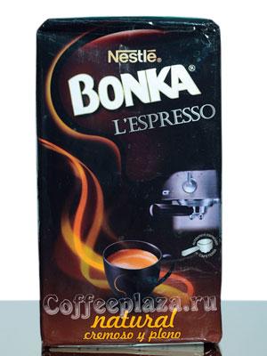 Кофе Bonka молотый Espresso