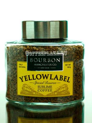 Кофе Bourbon растворимый Yellow Label 100 гр