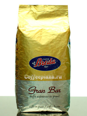 Кофе Breda в зернах Gran Bar