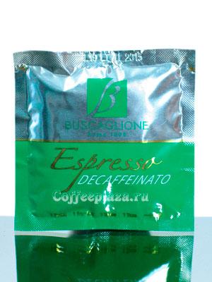Кофе Buscaglione в чалдах Espresso Decaf