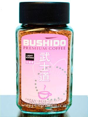 Кофе Bushido растворимый Light Katana 50 гр (ст.б.)