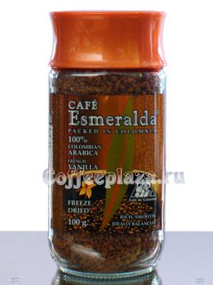 Кофе Cafe Esmeralda растворимый Французская Ваниль 100 гр