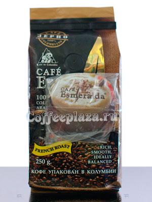 Кофе Cafe Esmeralda Французская обжарка в зернах 250 гр