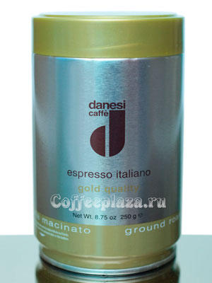 Кофе Danesi молотый Gold