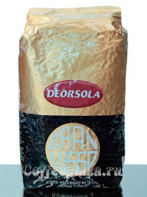Кофе Deorsola в зернах Gran Lusso