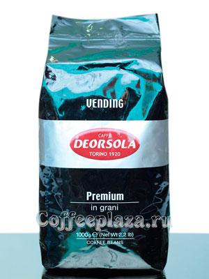 Кофе Deorsola в зернах Premium