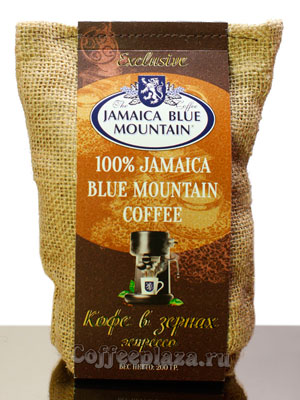 Кофе Jamaica Bue Mountain в зернах средняя обжарка 200 г
