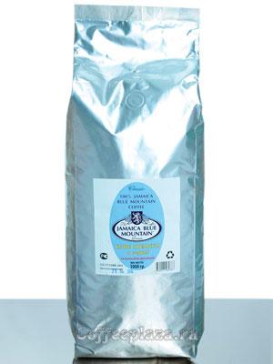 Кофе Jamaica Blue Mountain в зернах темной обжарки