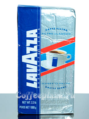 Кофе Lavazza молотый Filtro Classico 1 кг